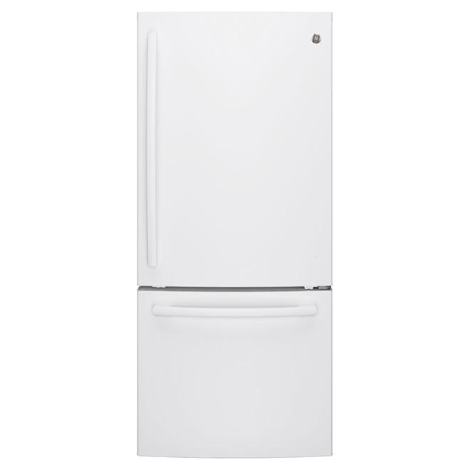 """Réfrigérateur congélateur inférieur 30"""", 20,9 pi³ blanc"""