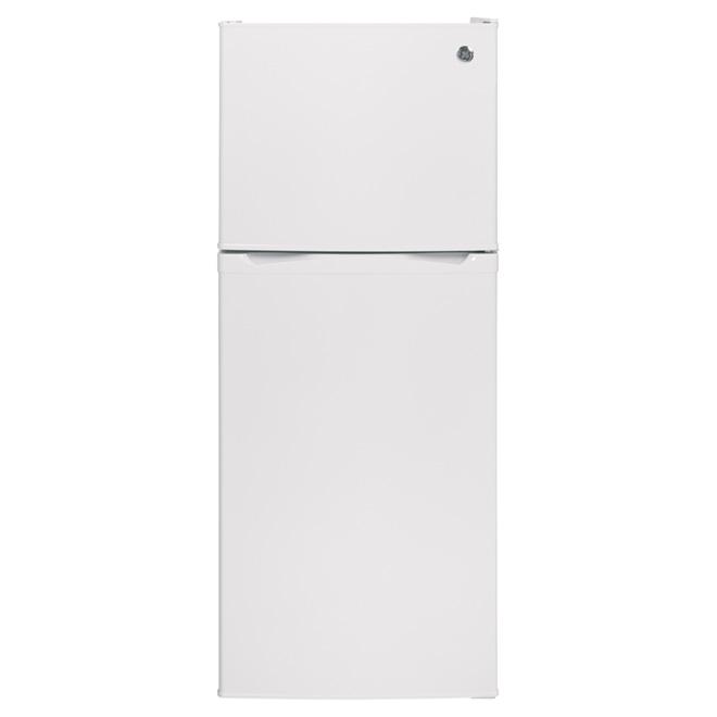 """Réfrigérateur congélateur supérieur 24"""", 11,6 pi³, blanc"""