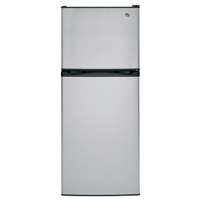 """Réfrigérateur congélateur supérieur 24"""", 11,6 pi³, inox"""
