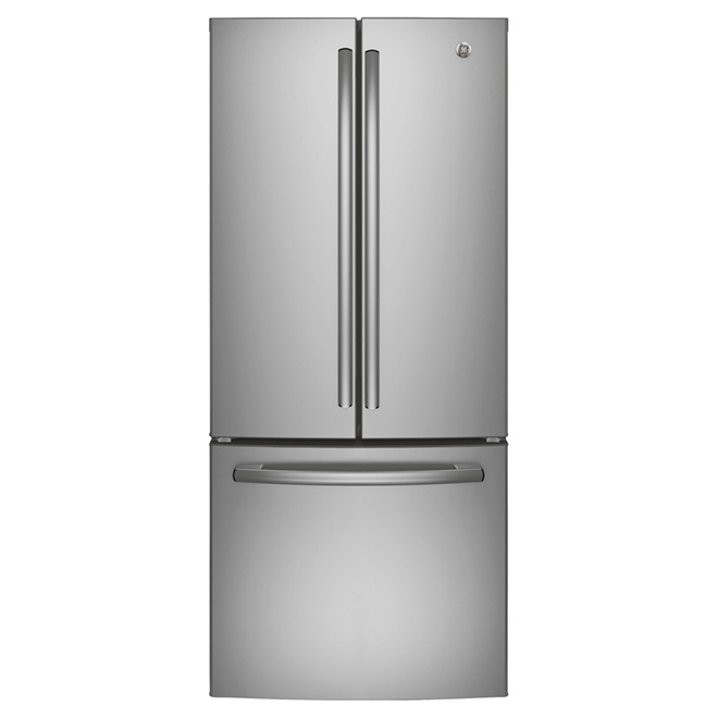 "French-Door Refrigerator 30"" - 20.8 cu. ft. -Stainless Steel"