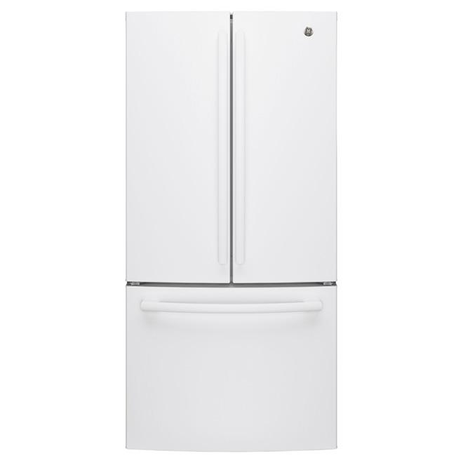 """Réfrigérateur à portes françaises 33"""", 24,8 pi³, blanc"""