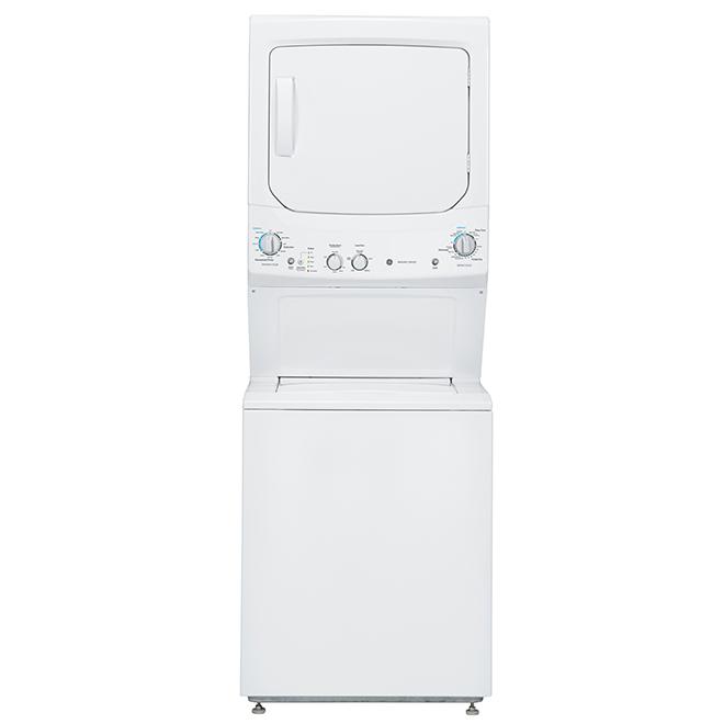 """Combiné laveuse-sécheuse électrique SpaceMaker, 27"""", blanc"""