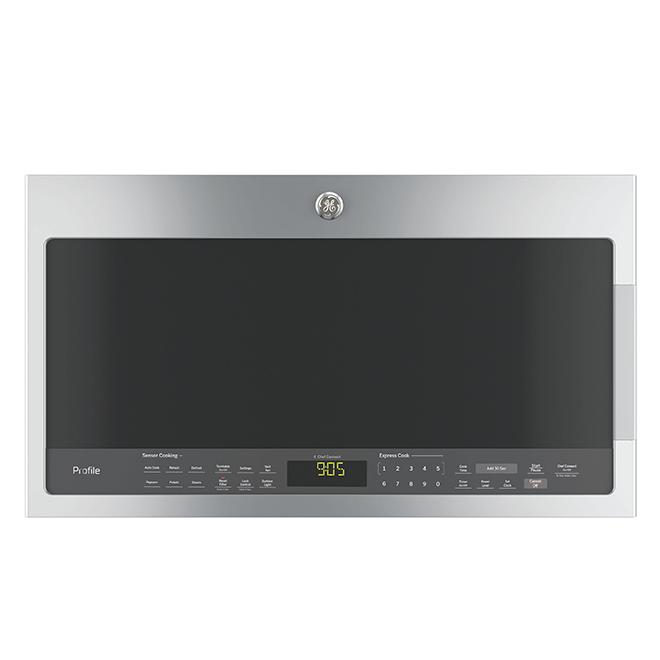 Four à micro-ondes avec Chef Connect(MC), 2,1 pi³, inox