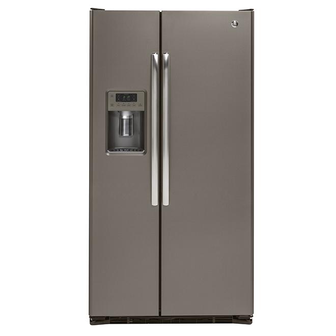 Réfrigérateur côte à côte à profondeur de comptoir, 22 pi³