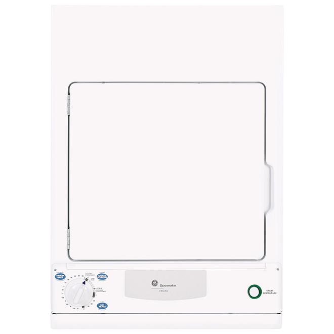 Sécheuse électrique compacte, 3,6 pi³, blanc