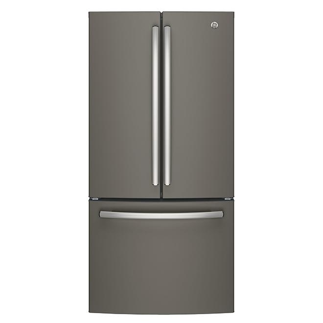 Réfrigérateur à profondeur de comptoir, 18,6 pi³, ardoise