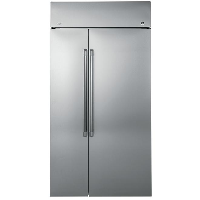 Réfrigérateur côte-à-côte, 26,1pi³, acier inoxydable