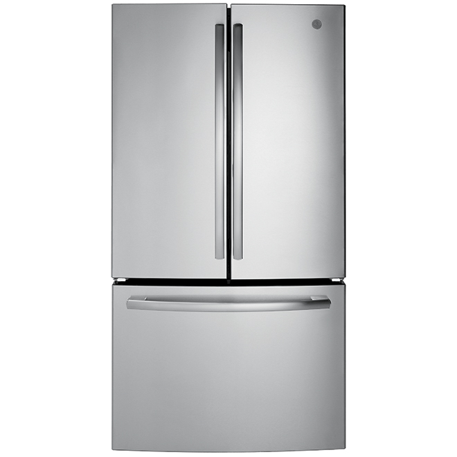 """French-Door Refrigerator - 36"""" - 26.7 cu. ft. - Steel"""