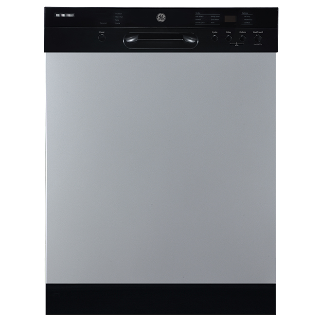 ge lave vaisselle encastr avec cleansensor 24 inox. Black Bedroom Furniture Sets. Home Design Ideas