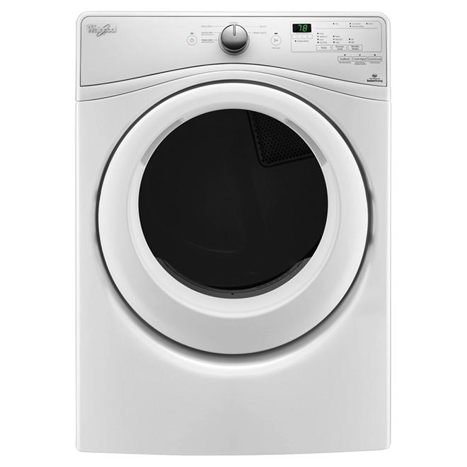Sécheuse électrique, WrinkleShield(MC), 7,4pi³, blanc