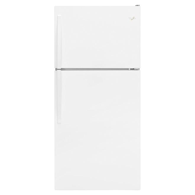 """Réfrigérateur congélateur supérieur 30"""", 18,2 pi³ blanc"""