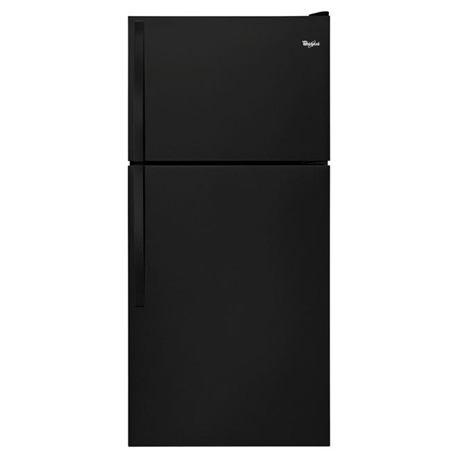"""Réfrigérateur congélateur supérieur 30"""", 18,2 pi³ noir"""