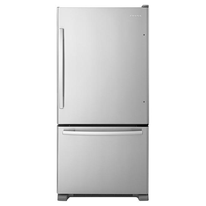 Réfrigérateur avec tiroirs Garden Fresh(MC), 22 pi³, inox