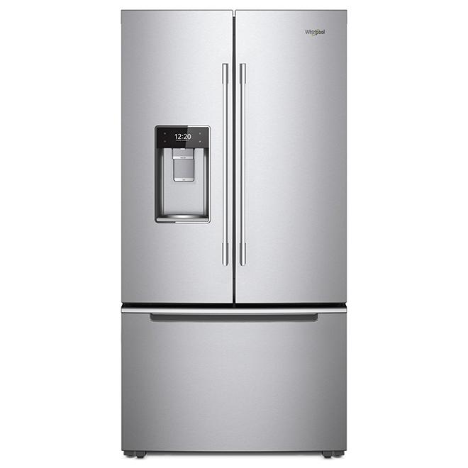 Réfrigérateur avec porte dans la porte, 24 pi³, inox