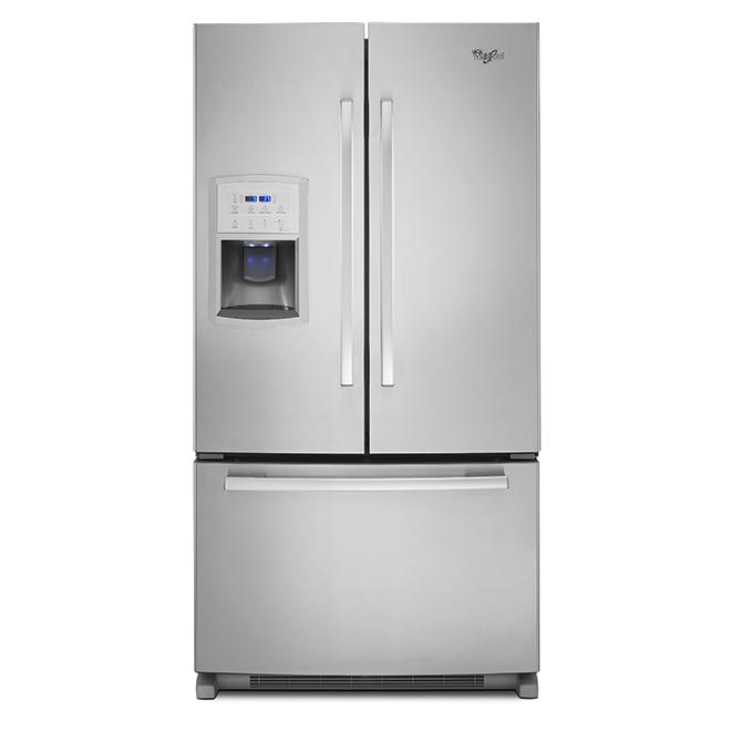 "French-Door Refrigerator - 36"" - Stainless Steel"