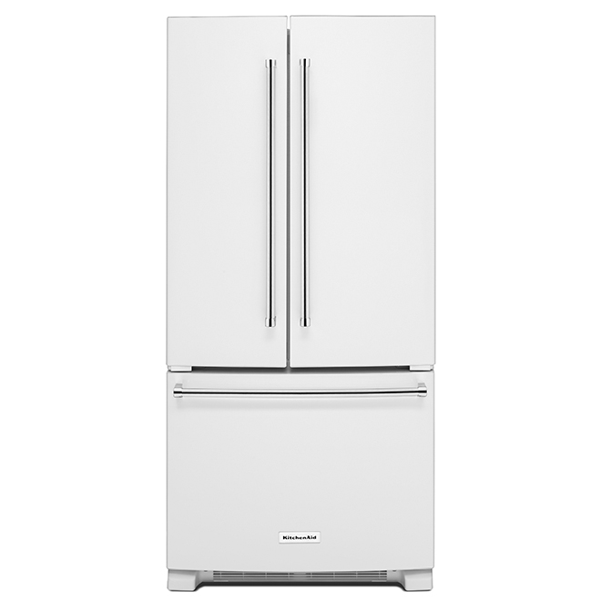 Refrigerator with Interior Dispenser - 22 cu. ft. - White