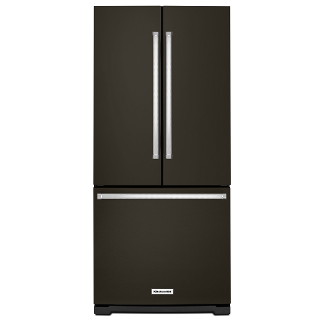 Refrigerator with Interior Dispenser 20 cu. ft - Black Steel