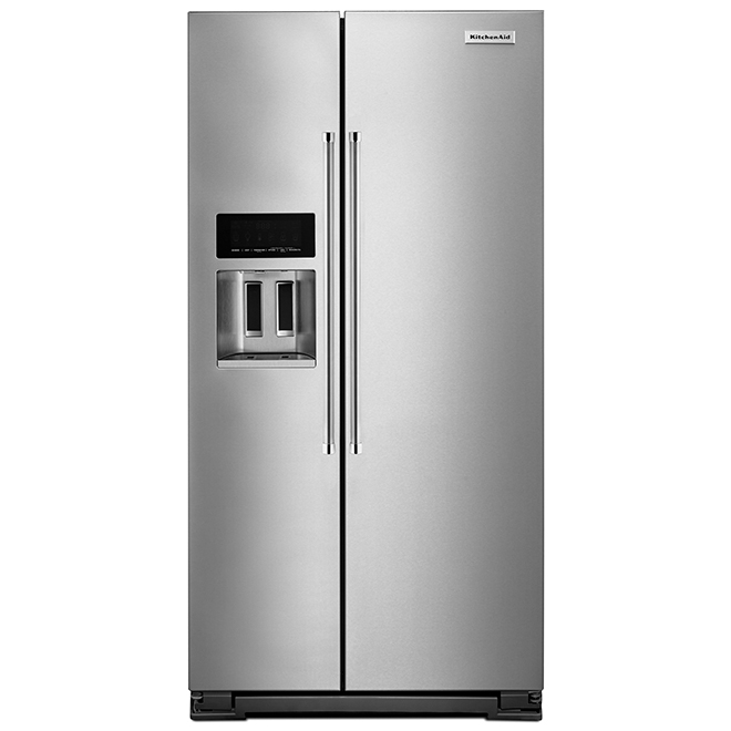Réfrigérateur à profondeur de comptoir, 22,6 pi³, inox