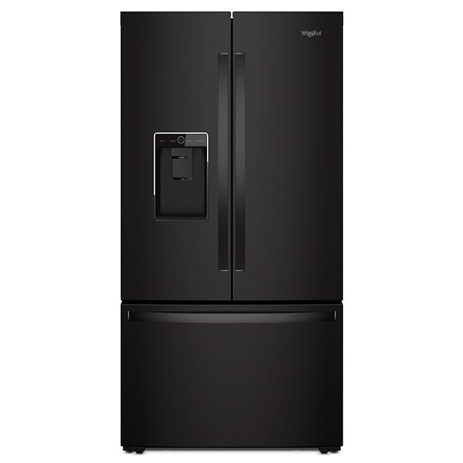 """Réfrigérateur à profondeur de comptoir, 36"""", 24 pi³, noir"""