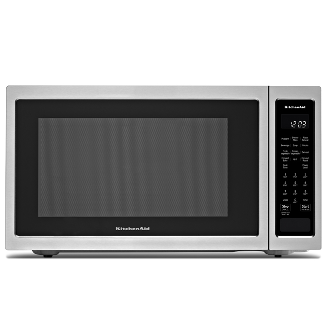 KitchenAid Convection Microwave Oven - 1.5 cu.ft. - 1400 W - SS