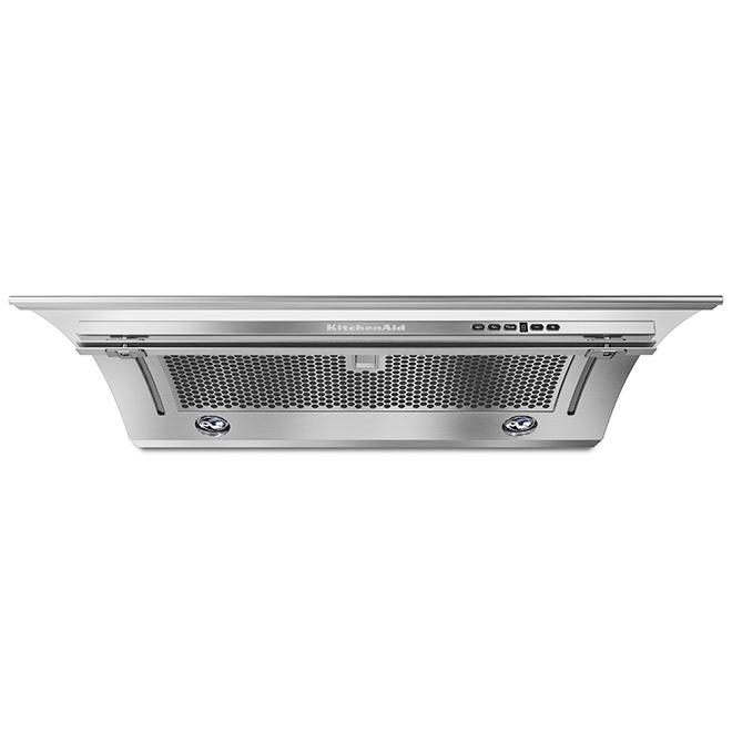 "Slide-Out Ventilation Hood - 30"" - 400 CFM - Stainless Steel"