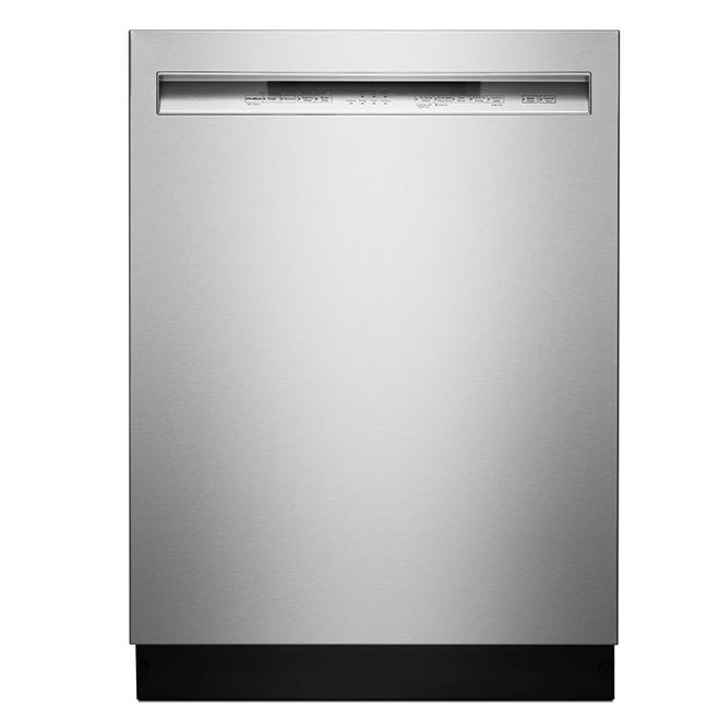 KitchenAid Slide-In Dishwasher with ProWash - 24-in - Stainless Steel