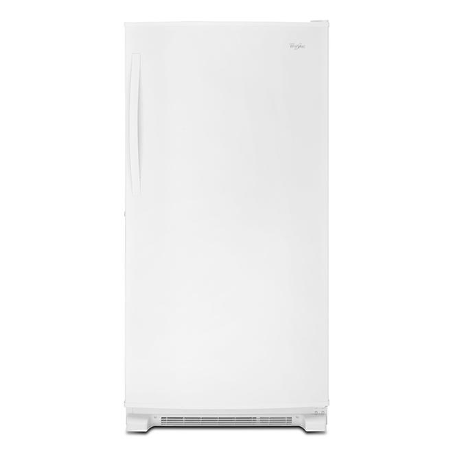 Whirlpool Upright Freezer - 33 1/4-in - 20-cu ft - White