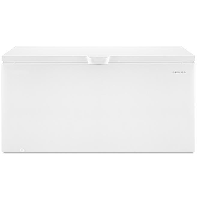 "Amana(R) Chest Freezer - 66.3"" - 21.7 cu. ft. - White"
