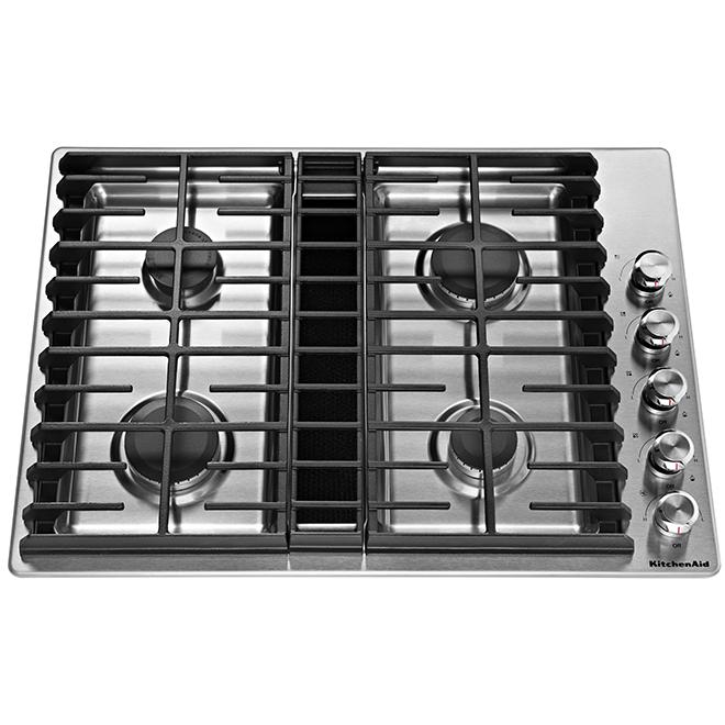 Kitchenaid R 4 Burner Gas Cooktop 30