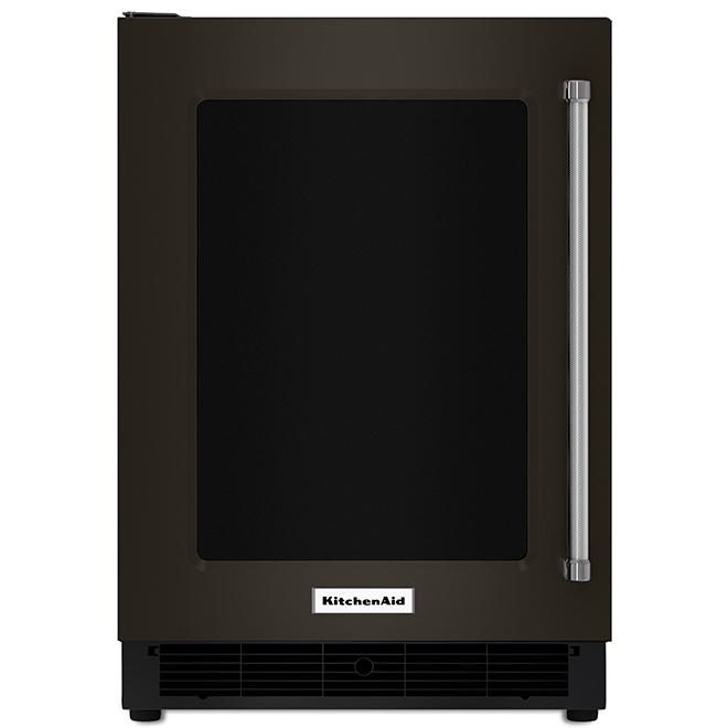 Réfrigérateur sous-comptoir KitchenAid(MD), 5,1 pi³, inox noir