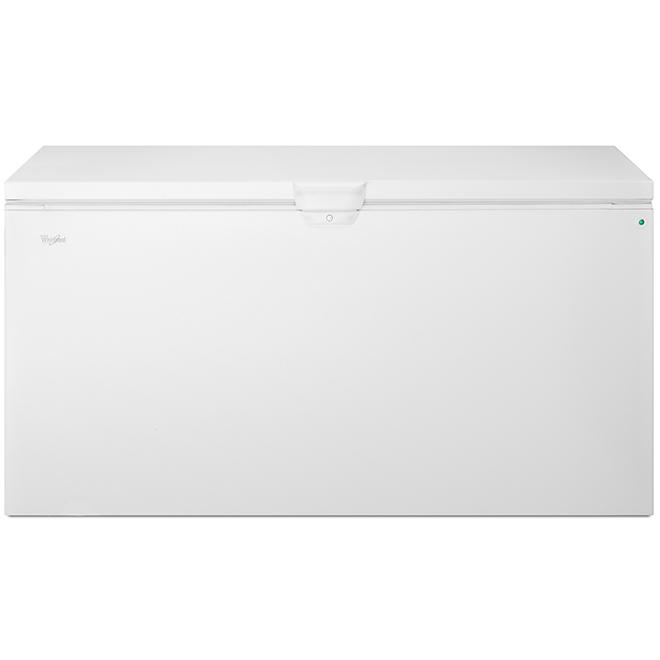 Congélateur coffre Whirlpool(MC), 22 pi³, blanc