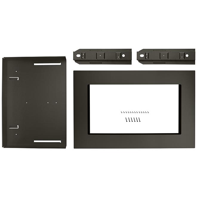 Microwave Oven Trim Kit - 27'' - Black Stainless Steel