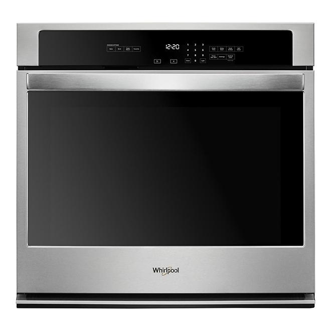 "Whirlpool(TM) Single Wall Oven - 27"" - 4.3 cu. ft. - S/S"
