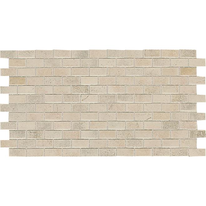 "Cicerone Mosaic Ceramic Tile - 12"" x 12"" - Beige"