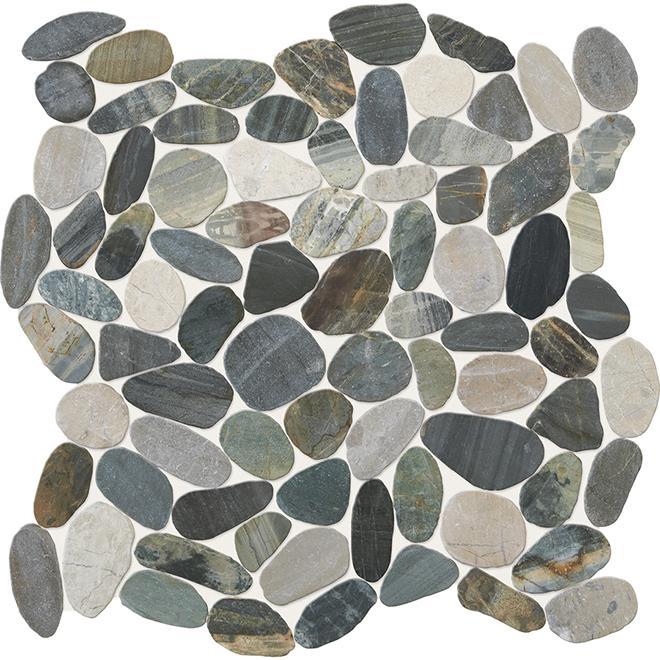 Mosaic Pebble Stone Tile 12 X