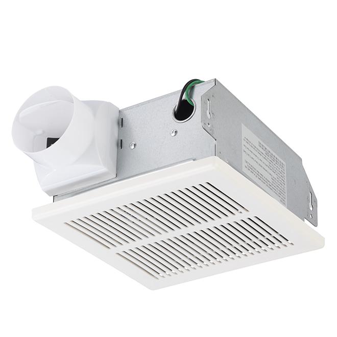 Nautika Ventilateur De Plafond De Salle De Bains 70 Pcm Blanc