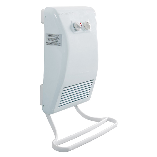 Nordik Wall-Mount Convector - Bathroom - 1500 W - 240 V - White