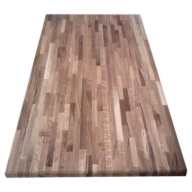 """Laminated Acacia Wood Counter Top - 25 1/2"""" x 72"""" - Natural"""