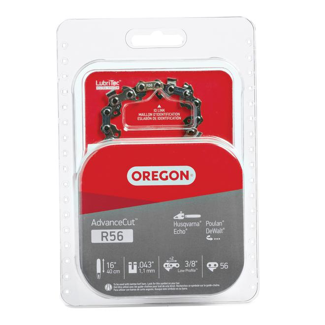 Oregon AdvanceCut R56 Chain Saw Chain - 16-in
