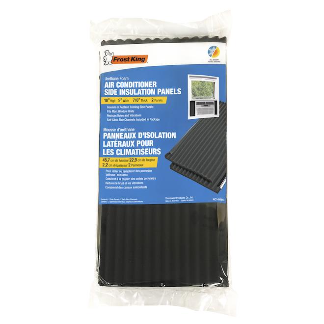 Panneaux d'isolation latéraux Frost King pour climatiseurs, 2/pqt