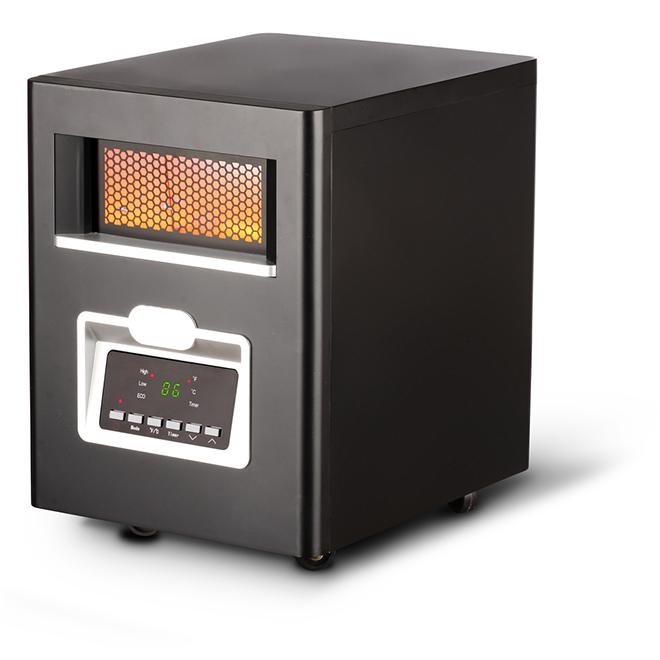 Chaufferette électrique à infrarouge au quartz, 5180 BTU