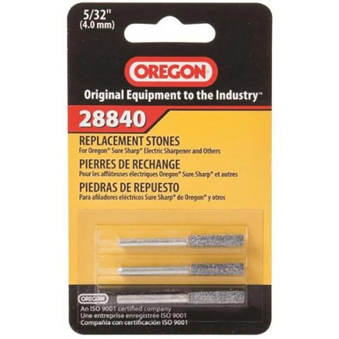Oregon Sure Sharp Electric Sharpener Stones - 7/32-in - 3/Pack