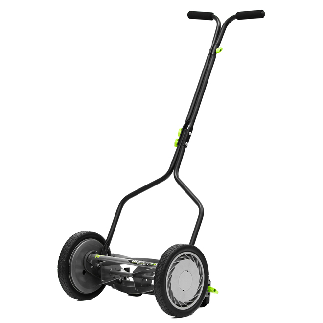 Earthwise - 5-Blade Mower - Quiet Cut - 14-in - Grey