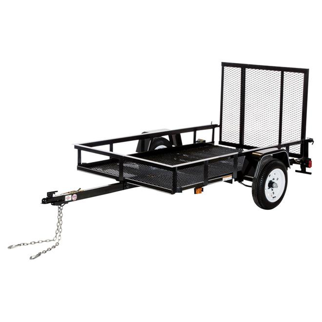 Utility Trailer - Black - 5'x 8'
