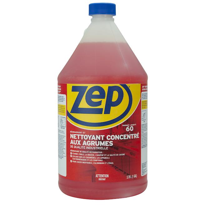 Dégraissant puissant Zep aux agrumes, 3,78 l