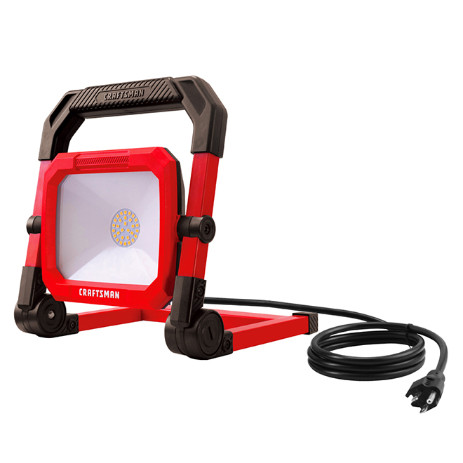 "LED Portable Work Light - 24 W - 8.17"" x 9.8"""