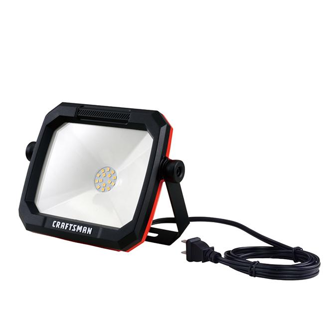 "LED Portable Work Light - 12 W - 5.28"" x 6.5"""