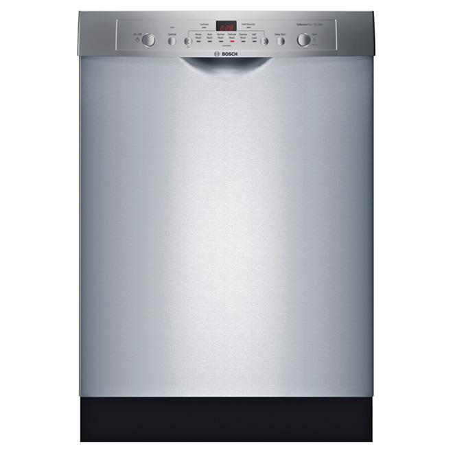 """Lave-vaisselle Ascenta 24"""" avec poignée en retrait, inox"""
