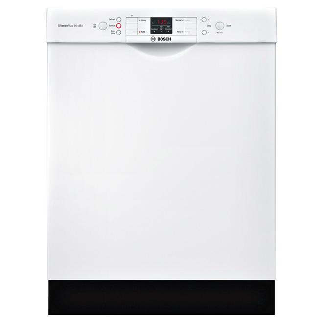 """Lave-vaisselle avec système RackMatic(MD), 24"""", blanc"""