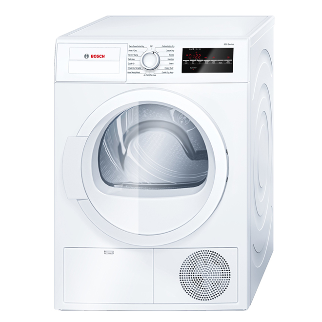 Sécheuse électrique compacte à condensation, 4,0 pi³, blanc